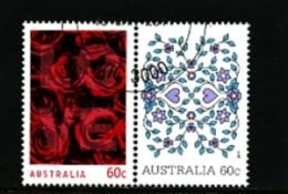 AUSTRALIA - 2011  LOVE  PAIR  FINE USED - 2010-... Elizabeth II