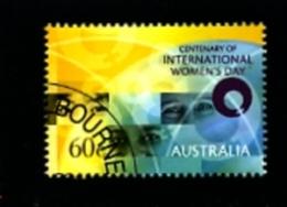 AUSTRALIA - 2011  INTERNATIONAL  WOMEN'S DAY  FINE USED - 2010-... Elizabeth II