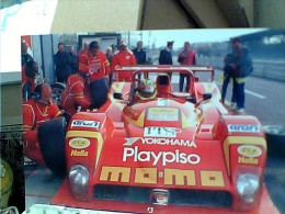 AUTO CAR FERRARI F 333 SP Figurine PANINI FORMATO CARD   N2010 ET16672 - Grand Prix / F1