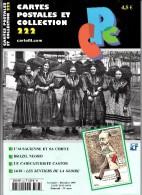 Revue - CPC N° 222 - Alsacienne Et Sa Coiffe - Brazil Negro - Caricaturiste Castor - 14/18 : Les Sentiers De La Gloire - Français