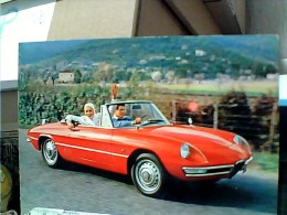 AUTO CAR ALFA ROMEO SPIDER 1600  N1975 Original  CARD  ET16674 - Grand Prix / F1