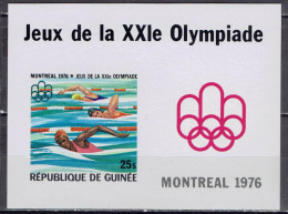 Guinea - Mi-Nr Block 44 B Postfrisch / MNH ** (w562) - Estate 1976: Montreal