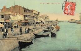 Palavas-les-Flots (Hérault) - Le Canal - Pêcheurs - Palavas Les Flots