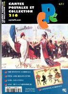 Revue - CPC N° 216 - The Entente Cordiale - P.P.M And Briand Lund - 14/18 : Les Civils - A.B.C De La Carthophilie - Français