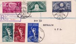 C-01-234 - Afrique Du Sud E - Enveloppe Recommandé - COB  - Pretoria -  - YT Nr 172 + 176 + 177 + 179 + 180 + 181 Lettre - Autres - Afrique