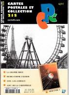 Revue - CPC N° 215 - La Grande Roue - Riche Comme Cochon - 14/18 : Les Animaux - A.B.C De La Cartophilie - Spoutnik 1 - Français