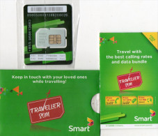 PACK CARTE GSM/SIM CAMBODGE  SMART Traveller Sim - Cambodge
