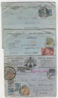 Lot Briefe Brasielien nach Deutschland