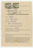 DDR Michel No. 1540 auf Sammler Ausweis