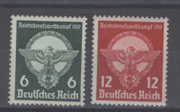 Deutsches Reich Michel No. 689 - 690 ** postfrisch