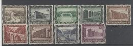 Deutsches Reich Michel No. 634 - 642 ** postfrisch