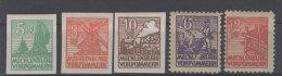 Lot Mecklenburg Vorpommern Michel No. 32 - 36 * ungebraucht
