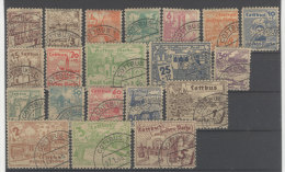 Lokalausgaben Cottbus Michel No. 1 - 20 gestempelt used