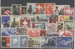 Lot Schweiz Soldaten Marken