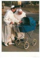 CARTOLINA ART UNLIMITED AMSTERDAM – MONKS OF ST. PAUL'S ORDER © SANDOR SZABO' 1994 N° C 5524 STAMPATO IN OLANDA DIMENSIO - Fotografia