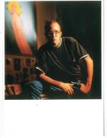 CARTOLINA ART UNLIMITED AMSTERDAM – KEITH HARING IN HIS NEW YORK STUDIO © PATRICIA STEUR 1989 N° C 6452 STAMPATO IN OLAN - Fotografia