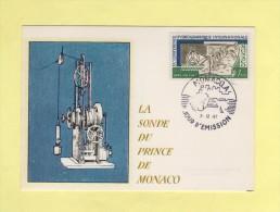 Monaco - Conference Hydrographique - N°731 - Cartes-Maximum (CM)