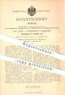 Original Patent - Paul Löwe In Cunnersdorf B. Hainichen , 1895 , Waschmaschine Für Kartoffeln , Haushalt !!! - Hainichen