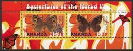 RWANDA 2010 - Faune, Insectes, Papillons IV - BF Neuf // Mnh - 1990-99: Neufs