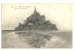 Cp, 50, Le Mont Saint-Michel, Vue Prise Du Sud-Est - Le Mont Saint Michel