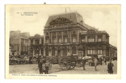 Cp, 50, Cherbourg, Le Théatre - Cherbourg