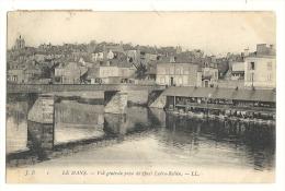 Cp, 72, Le  Mans, Vue Générale Du Quai Ledru-Rollin, Voyagée 1907 - Le Mans