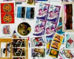 AFRICA British KILOWARE MissionBag 250g (8½oz) Ca 1000+ Stamps Mixture      [vrac Kilowaar Kilovara] - Timbres