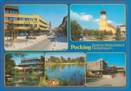 AK Pocking In Niederbayern Ndb. Bayern Deutschland Stadt Im Bäderdreieck Bavaria Germany Allemagne Ansichtkarte Postcard - Pocking