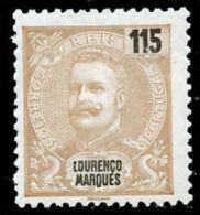 !■■■■■ds■■ L.Marques 1903 AF#74* Mouchon New Colors 115 Réis (x7937) - Lourenco Marques