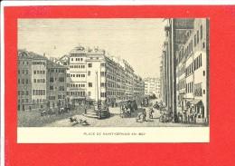 GENEVE Cpa Place De Saint Gervais        Imp Atar - GE Ginevra