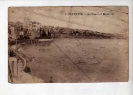 Beyrouth Quartier Medawar - Ed Librairie Stamboul F�rid 1 - Soldat Disert/Longuemart de Roeulx - 1923 - INEDITE