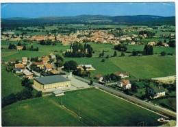 Vercel-villedieu. 25. Vue Aerienne .terrain De Foot .1986. - Otros Municipios