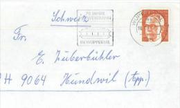 Gustav Heinemann Wuppertal 70 Jahre Schwebebahn Magnet 1973 - BRD