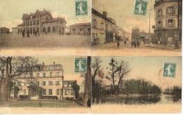 Lot 7 Cpa Saint-gratien (dpt 95) A Voir Belles Cartes Assez Rare Correspondance Unisque - Saint Gratien