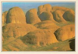 AUSTRALIA  MONTI OLGA:  CUORE ROSSO DELL'AUSTRALIA     (NUOVA CON DESCRIZIONE DEL SITO SUL RETRO) - Uluru & The Olgas