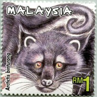 N° Michel 952 (YT 843) - Timbres De Malaisie - (MNH) - (2000) - Artictis Binturong (JS) - Malaysia (1964-...)