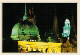AUSTRALIA   MELBOURNE: I TETTI DELLA CATTEDRALE DI SAN PAOLO     (NUOVA CON DESCRIZIONE DEL SITO SUL RETRO) - Melbourne