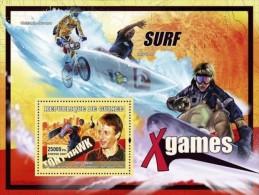 GUINEA 2007 - Skateboard, Tony Hawk - YT BF461, B1178 - Skateboard