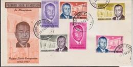 Burundi 1963 Prince Louis Rawagasore 6v On FDC (F3189) - Burundi
