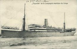 THYSVILLE De La Compagnie Maritime Du Congo - Paquebots