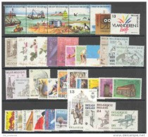 KOOPJE !!!!!BELGIE 1988 Xx VOLLEDIG JAAR / L´ANNEE COMPLETE COB . 2273/2311 - 39 W/V + 2 BL - COTE: 70.00 EURO - Belgique