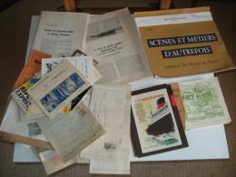 Gros Lot De Vieux Papiers Divers ..destockage..divers Papiers Interressant Voir Scans - Vieux Papiers