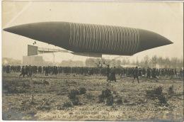 """20/11/1903 Dirigeable Aeronat """" Lebaudy Sucre """" Du Champs De Mars à Chalais Meudon Le Lachez Tout   Photo - Dirigeables"""