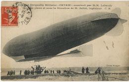 """Ballon Dirigeable Militaire """" Patrie """" Construit Par Lebaudy Sucre  Ingenieur Juliot Cliché Branger - Dirigibili"""