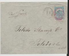 Ha001a/ Provisorium In Gold Währung 1906. Nur Kurzverwendet! - Haiti