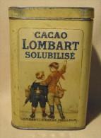 BOITE De CACAO  LOMBART - Boîtes