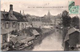 18 VIERZON - Les Lavoirs De L'abbaye Et Les Moulins. - Vierzon
