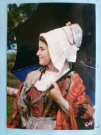 V08-14-calvados-retour Du Marche En Pays D'auge-coiffe Et Costume De Pont-l'eveque - Pont-l'Evèque