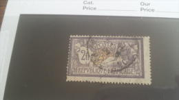 LOT 254107 TIMBRE DE FRANCE OBLITERE N�122 VALEUR 90 EUROS