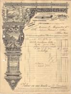 RHÔNE - VILLEURBANNE - IMPRESSIONS COMMERCIALES ET ARTISTIQUES - A. RAMBOZ - 190? - Imprimerie & Papeterie